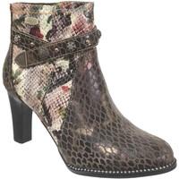 Zapatos Mujer Botines Laura Vita Alcbaneo 226 Multi cuero marrón