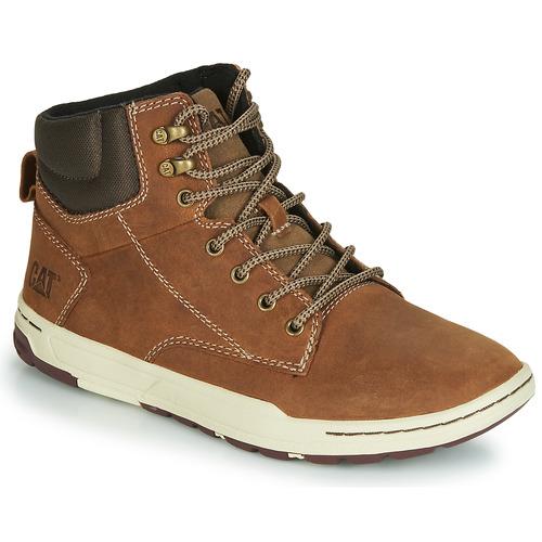 Zapatos Hombre Zapatillas altas Caterpillar COLFAX MID Marrón