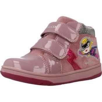 Zapatos Niña Zapatillas altas Geox B NEW FLICK GIRL Rosa