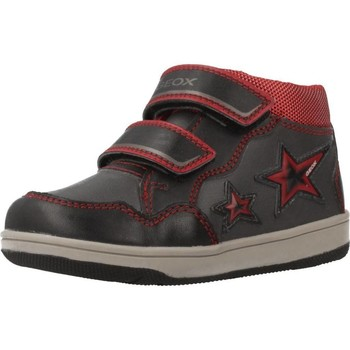 Zapatos Niño Zapatillas altas Geox B NEW FLICK BOY Gris