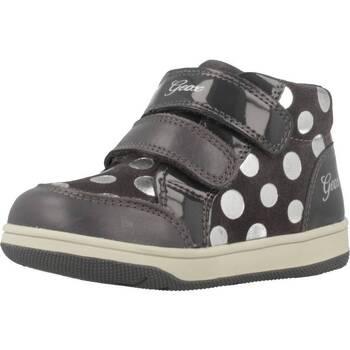 Zapatos Niña Zapatillas altas Geox B NEW FLICK G Gris