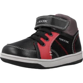 Zapatos Niño Zapatillas altas Geox B NEW FLICK BOY Negro
