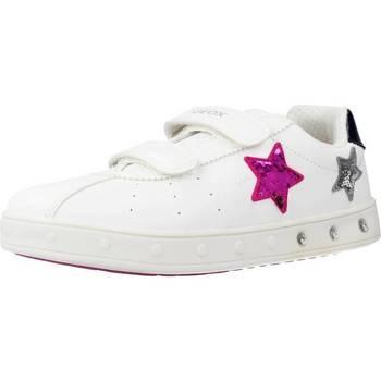 Zapatos Niña Zapatillas bajas Geox J SKYLIN GIRL Blanco