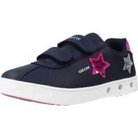 Zapatos Niña Zapatillas bajas Geox J SKYLIN GIRL Azul