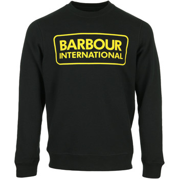 textil Hombre Sudaderas Barbour Large Logo Sweat Negro