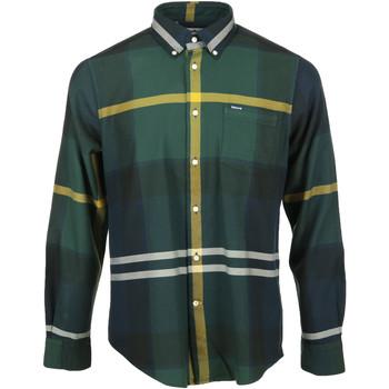 textil Hombre Camisas manga larga Barbour Dunoon Tailored Shirt Verde