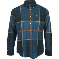 textil Hombre Camisas manga larga Barbour Dunoon Tailored Shirt Azul