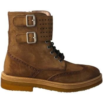 Zapatos Mujer Botines Calce 1076 Marrón