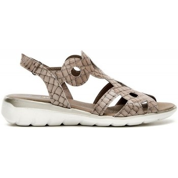 Zapatos Mujer Sandalias 24 Hrs 24 Hrs 24941 Taupe Beige