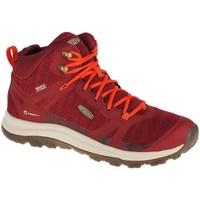 Zapatos Mujer Zapatillas altas Keen Terradora II WP Rojos