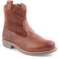Zapatos Niña Botas urbanas Agm K Boot Texana Marrón