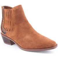Zapatos Mujer Botines Voga A Ankle boots Texana Marrón
