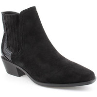 Zapatos Mujer Botines Voga A Ankle boots Texana Negro