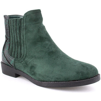 Zapatos Mujer Botines Voga A Ankle boots CASUAL Verde