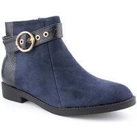 Zapatos Mujer Botines Voga A Ankle boots CASUAL Azul