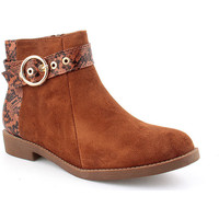 Zapatos Mujer Botines Voga A Ankle boots CASUAL Marrón