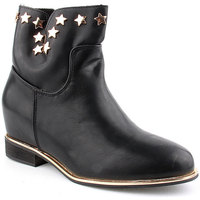 Zapatos Mujer Botines Voga L Ankle boots CASUAL Negro