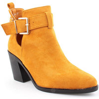 Zapatos Mujer Botines Voga L Ankle boots Texana Amarillo