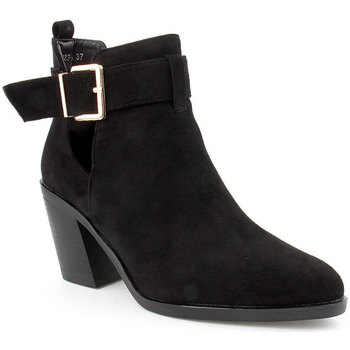 Zapatos Mujer Botines Voga L Ankle boots Texana Negro