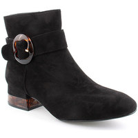 Zapatos Mujer Botines Voga L Ankle boots Clasic Negro
