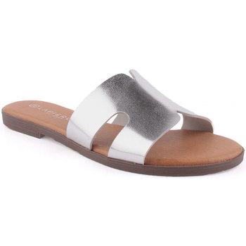 Zapatos Mujer Zuecos (Mules) Lapierce L Slipper CASUAL Plata