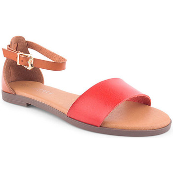 Zapatos Mujer Sandalias Lapierce L Sandals CASUAL Rojo