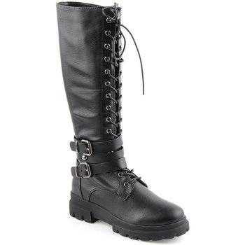 Zapatos Mujer Botas urbanas Lapierce L Boots Military Negro