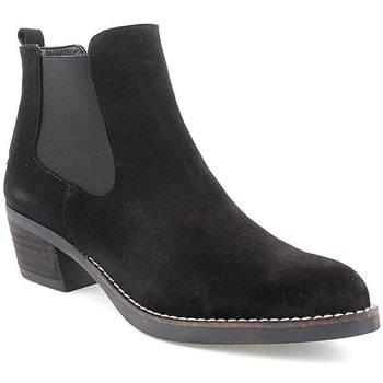 Zapatos Mujer Botines Wilano L Ankle boots Texana Negro