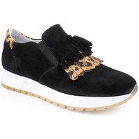 Zapatos Mujer Slip on Wilano L Shoe Sporty Negro