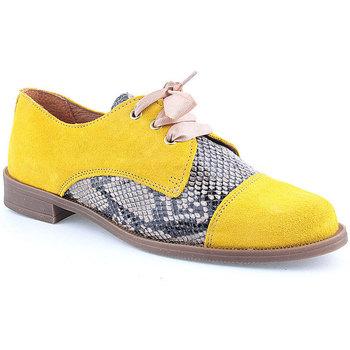 Zapatos Mujer Derbie Wilano L Shoes CASUAL Amarillo
