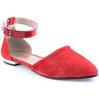 Zapatos Mujer Bailarinas-manoletinas Wilano L Shoes Clasic Rojo
