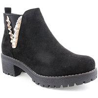 Zapatos Mujer Botines Bebracci L Boot Lady Negro