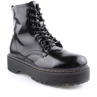 Zapatos Mujer Botas de caña baja Isteria L Ankle boots Military Negro