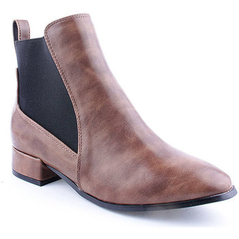 Zapatos Mujer Botines Azarey L Ankle boots Marrón