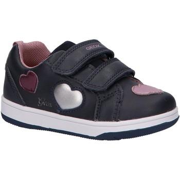 Zapatos Niña Zapatillas bajas Geox B161HB 08554 B NEW FLICK Azul
