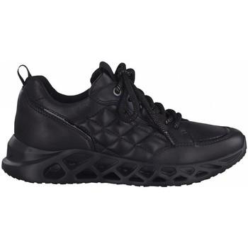 Zapatos Mujer Zapatillas bajas Jana 23707 PIEL NEGRA NEGRO
