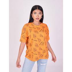 textil Mujer Camisetas manga corta Project X Paris  Naranja