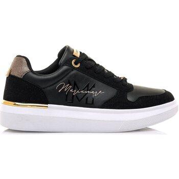 Zapatos Mujer Deportivas Moda Maria Mare 63140 NEGRO