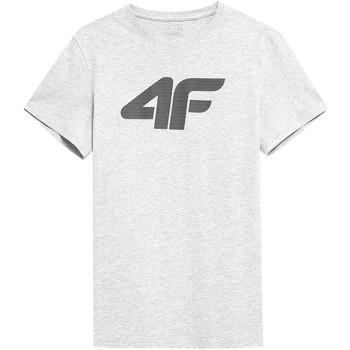 textil Hombre Camisetas manga corta 4F TSM353 Blanco