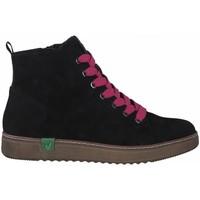 Zapatos Mujer Botines Jana 25280 VEGANO NEGRO NEGRO