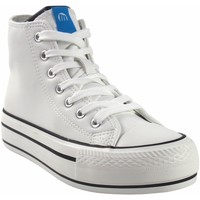 Zapatos Mujer Zapatillas altas MTNG Lona señora MUSTANG 60172 blanco Blanco