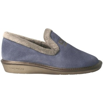 Zapatos Mujer Pantuflas Nordikas 305-O Azul