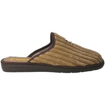 Zapatos Hombre Pantuflas Nordikas 236 Beige