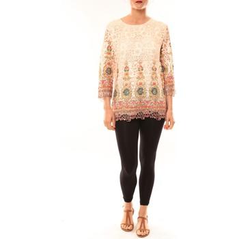 textil Mujer Túnicas Meisïe Tunique 23-250SP15 Écru Beige