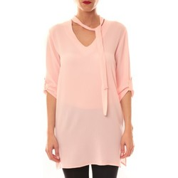 textil Mujer Vestidos cortos La Vitrine De La Mode Robe 156 By La Vitrine Rose Rosa