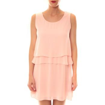 textil Mujer Vestidos cortos La Vitrine De La Mode Robe TROIS By La Vitrine Rose Rosa