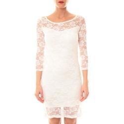 textil Mujer Vestidos cortos La Vitrine De La Mode Robe 158 By La Vitrine Écru Beige