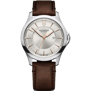 Relojes & Joyas Hombre Relojes analógicos Victorinox 241907, Quartz, 40mm, 10ATM Plata