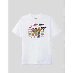 textil Hombre Camisetas manga corta Butter Goods CAMISETA  DANCE HALL TEE WHITE Blanco