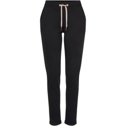 textil Mujer Pantalones de chándal Lascana Pantalones Loungewear Pearl Black